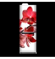 Магнит на весь холодильник «Красный цветок»