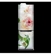 Магнит на весь холодильник «Кремовая роза»