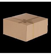Коробка подарочная «Крафт» S