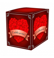 "Коробки под кружки ""С любовью для тебя"""