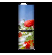Магнит на весь холодильник «Тюльпаны»