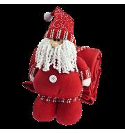 Дед Мороз с пледом