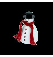 """Снеговик музыкальный с диктофоном """"Поздравляю!"""""""