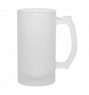 Кружка Пивная стеклянная матовая